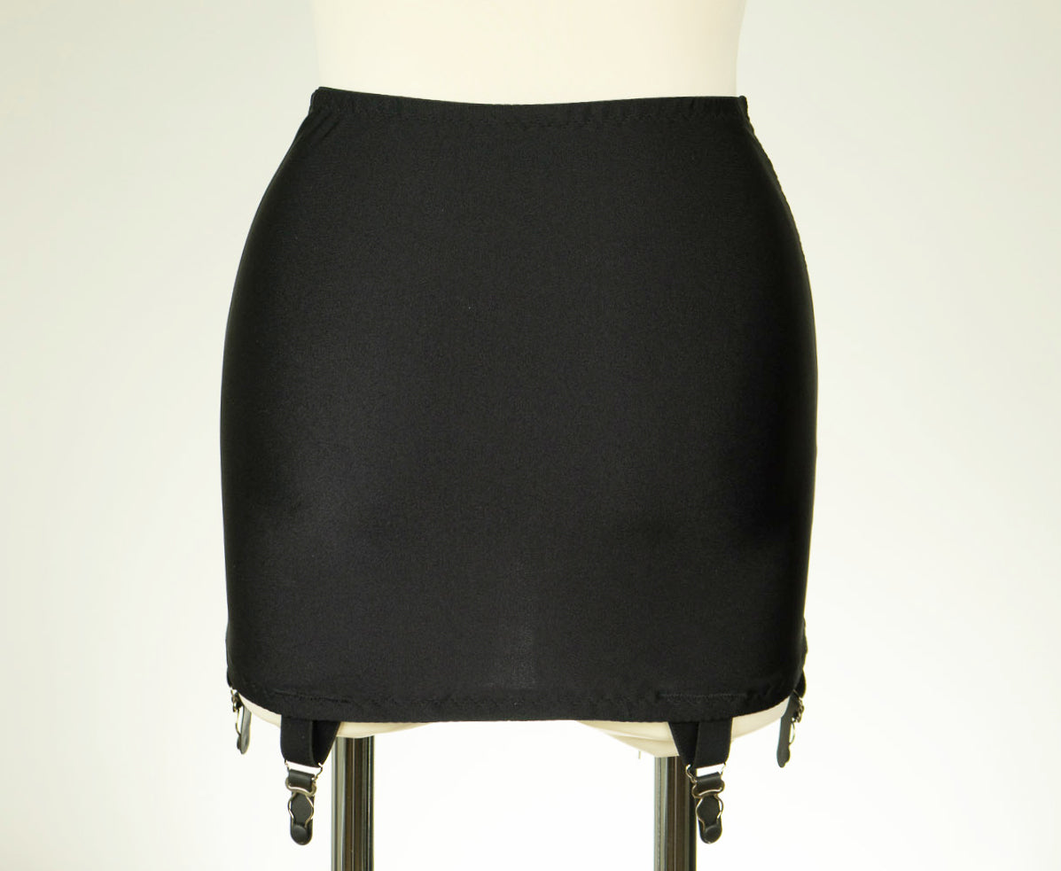 Black GLENDA Open Bottom Girdle Pull On Light Control OBG size S-2XL