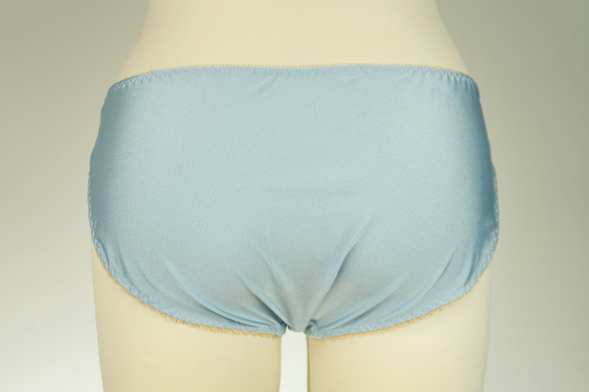 Baby blue ALICE lace Bikini Panties Thongs Size S-XL