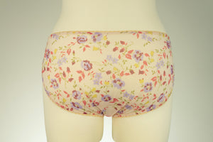 Floral IRMA Sheer High Waist Panties Transparent Briefs - sizes S-XL