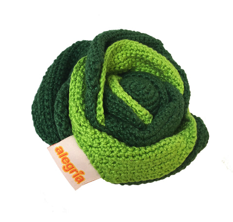Savoy Cabbage - Crochet Toy