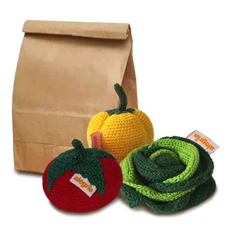 Packed Lunch - VEGGIE  | Crochet Toy