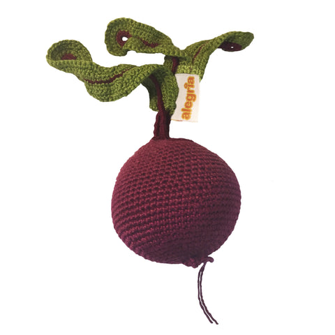 Beetroot - Crochet Toy | Häkelspielzeug