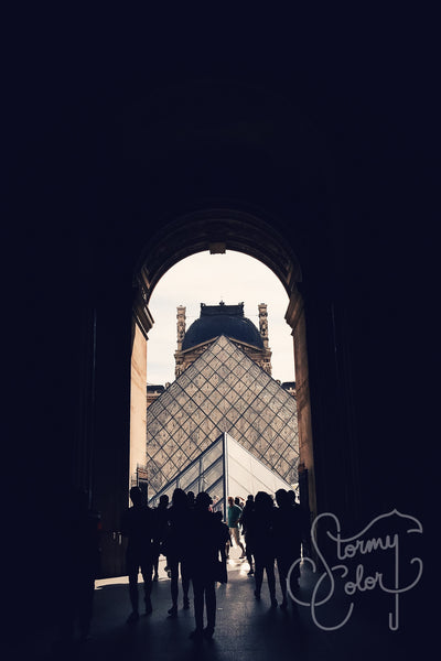 Light, Lines & the Louvre,