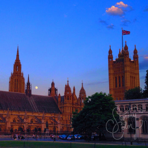 Parliament at Dusk