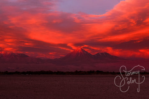Sunset, Atacama