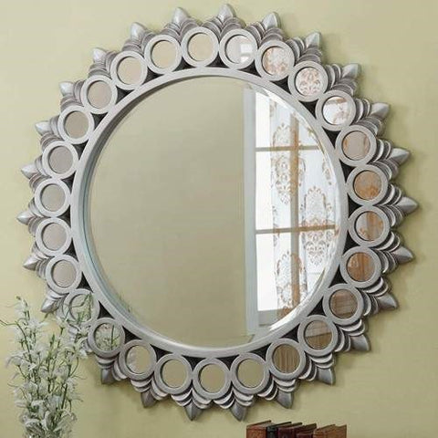 Mirror To Decorate Rustic Coffee Table