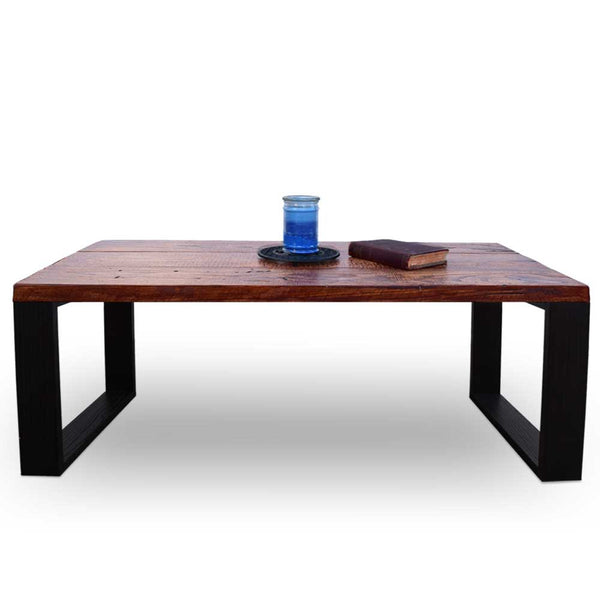Zen Reclaimed Wood Coffee Table - Brown