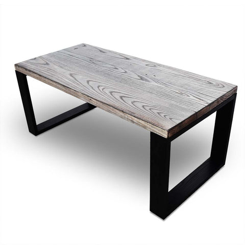 Zen Reclaimed Wood Coffee Table - Gray