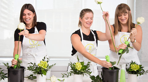 Alice's Table Flower Arranging Class