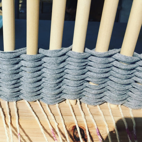 Peg Loom - Introduction to weaving class