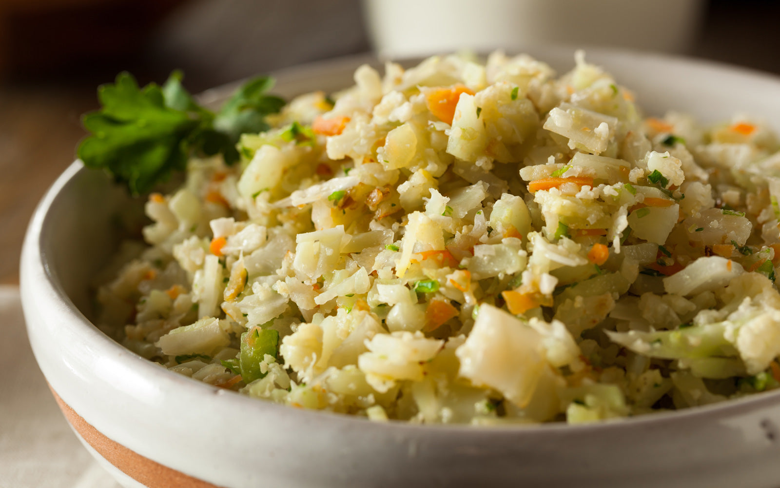 How to Make Riced Cauliflower
