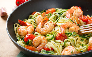 Sauteed Shrimp and Vegetable Noodles Recipe