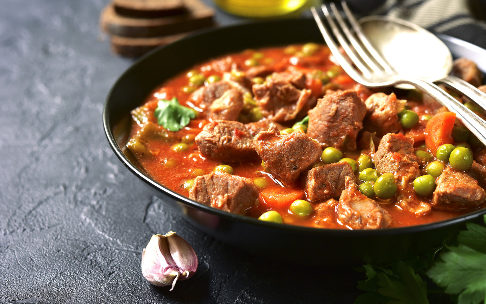 Slow Cooker Pork & Vegetable Stew