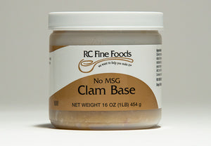 Clam Broth Base No Added MSG