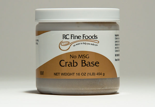 Crab Broth Base No Added MSG