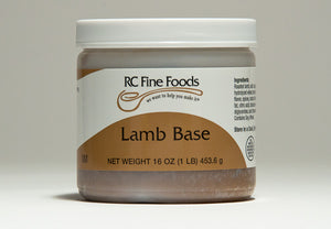 Lamb Broth Base No Added MSG