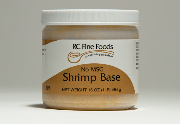 Shrimp Broth Base No Added MSG