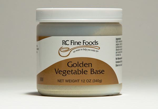 Vegetable Broth Base No Added MSG
