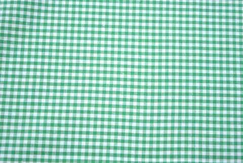 Green Gingham - The Christmas Fabric Shop - 1