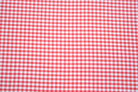 Red Gingham - The Christmas Fabric Shop - 1