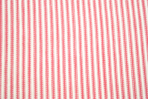 Red Ticking - The Christmas Fabric Shop - 1
