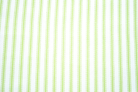 Green Ticking - The Christmas Fabric Shop - 1