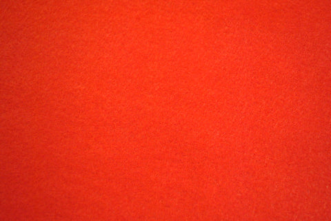 Red Felt - The Christmas Fabric Shop