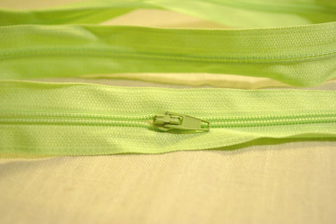 Lime Green Zip - The Christmas Fabric Shop