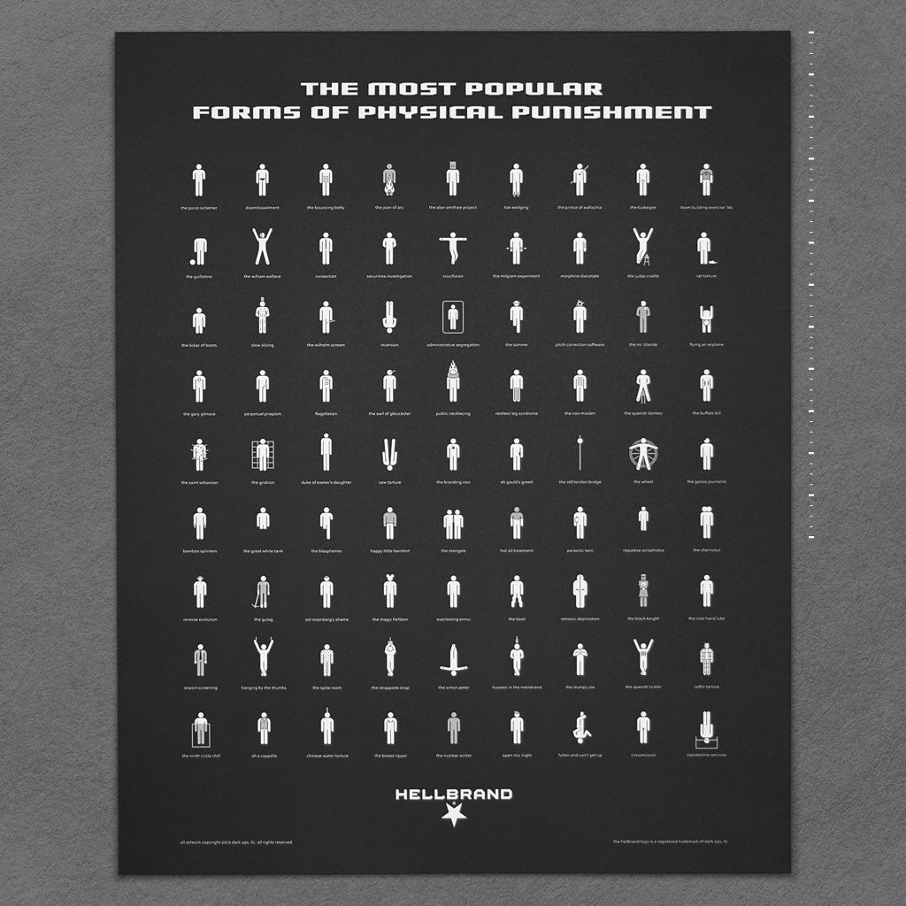 Hellbrand Punishments Poster