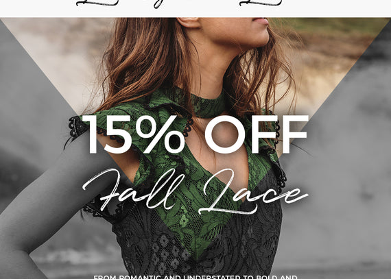 LOVELY IN LACE | SALE