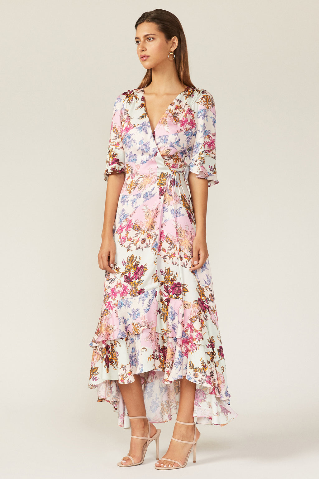 Abbie Wrap Dress