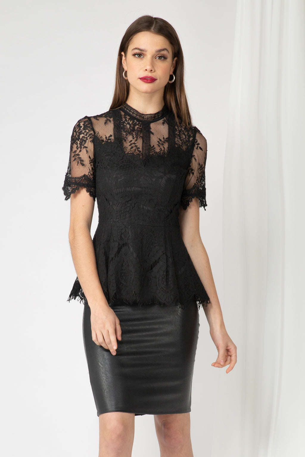 Evette Lace Top