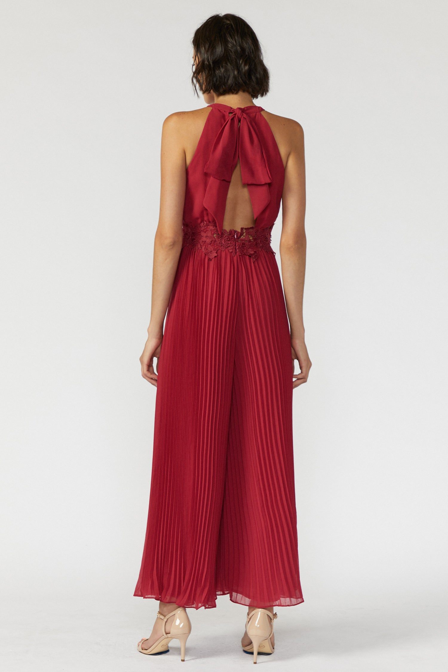 Elliott Halter Neck Jumpsuit