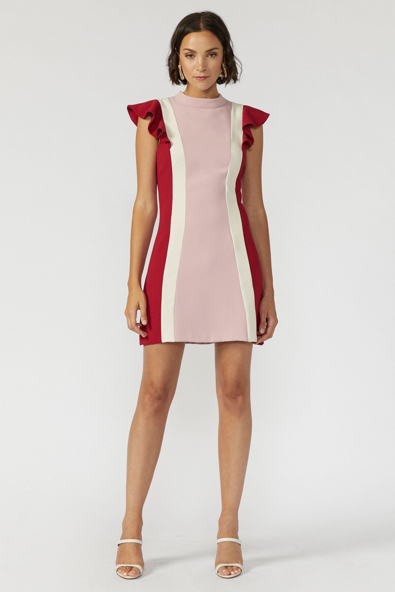 Keely Color-block Dress