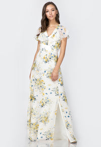 Liana Ruffle Maxi Dress