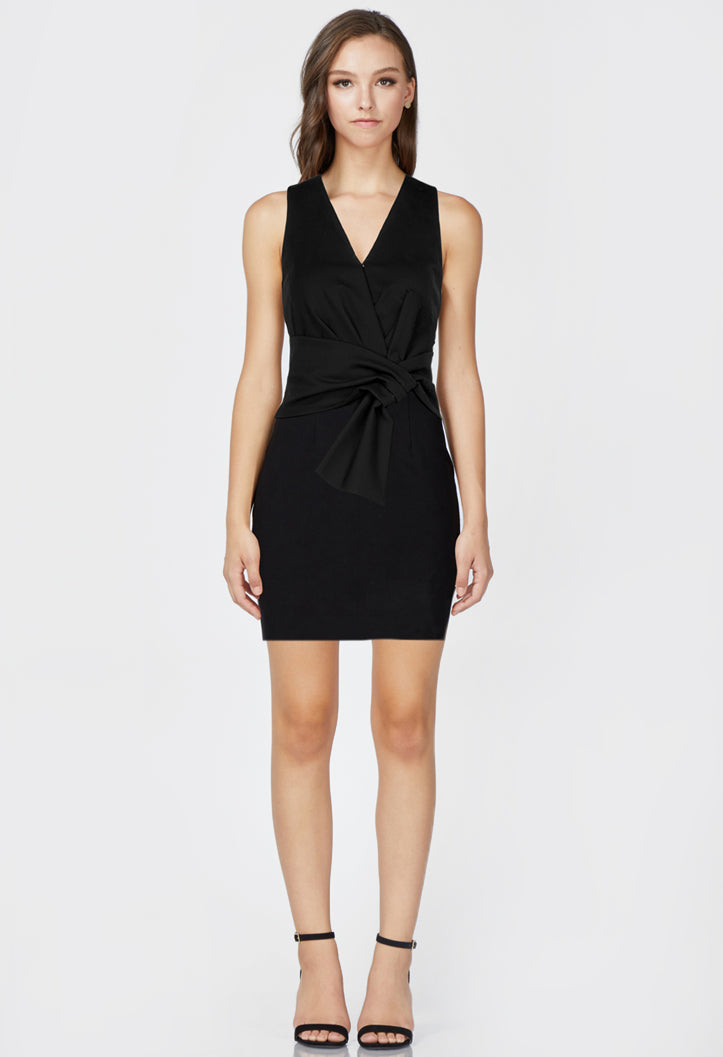 Gillian Ponte Knit Dress