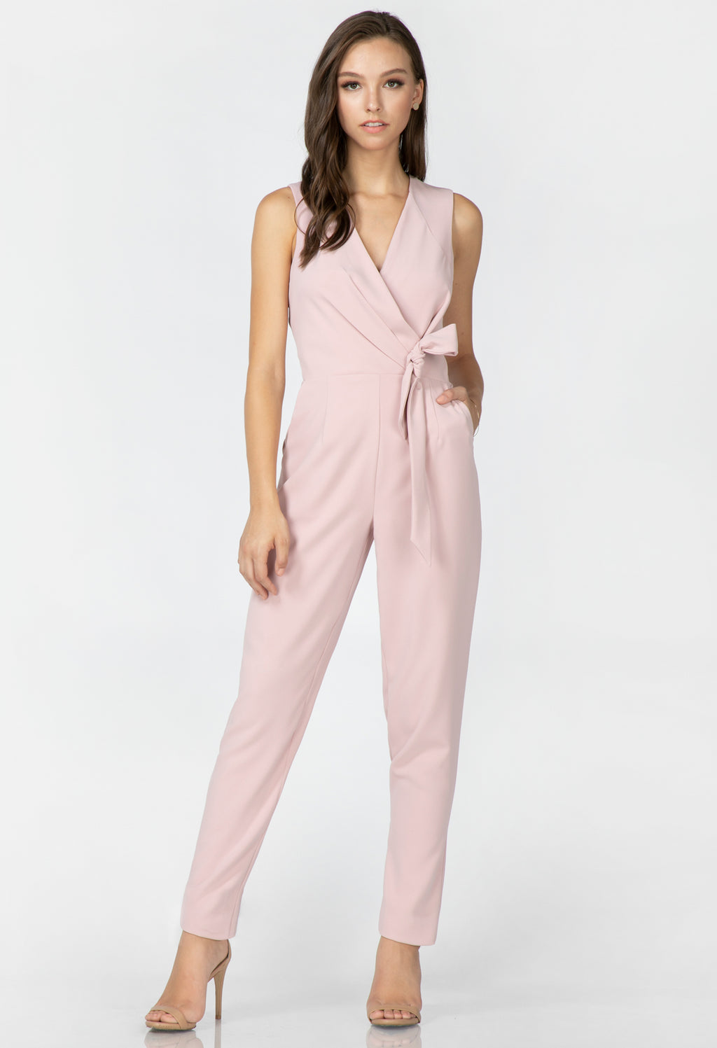Kennedy Tie Wrap Jumpsuit