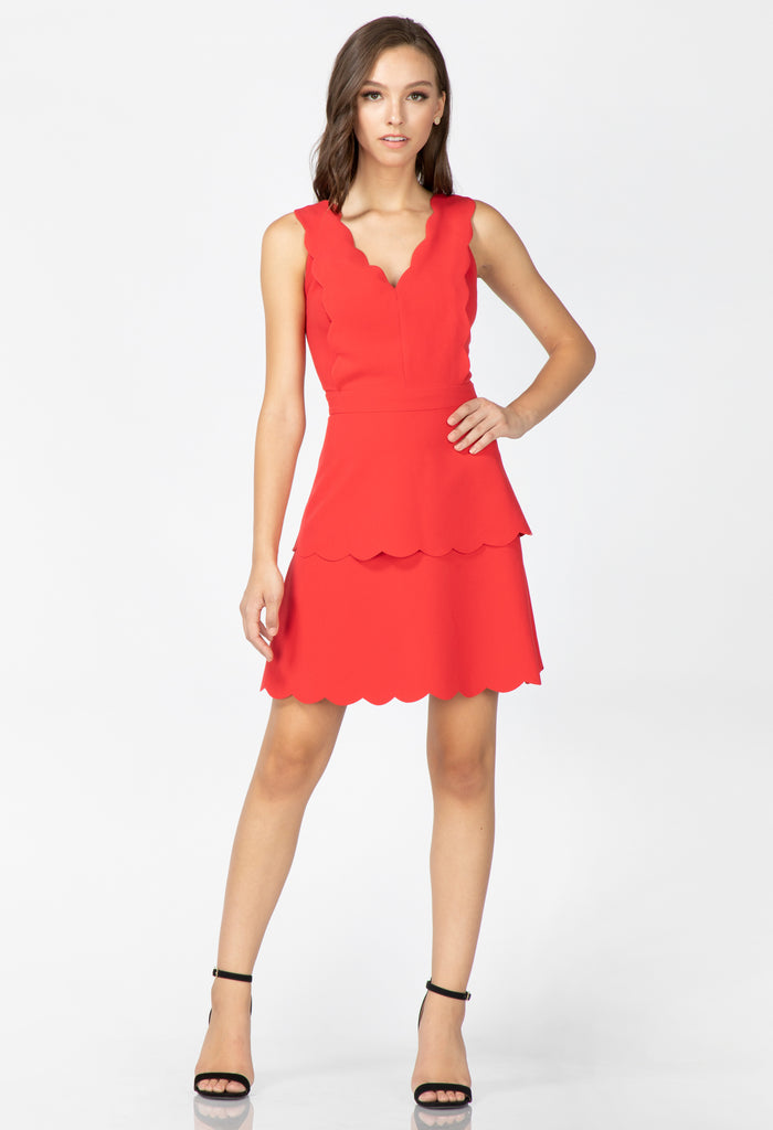Jaden Scallop Dress