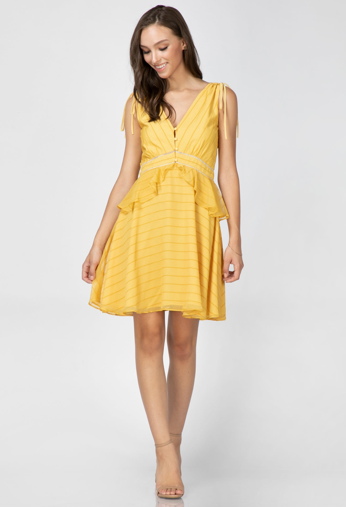 Emilie Ruffle Dress