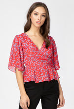 Load image into Gallery viewer, April Butterfly Sleeve Blouse