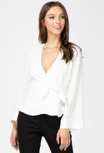 Load image into Gallery viewer, Presley Faux Wrap Blouse
