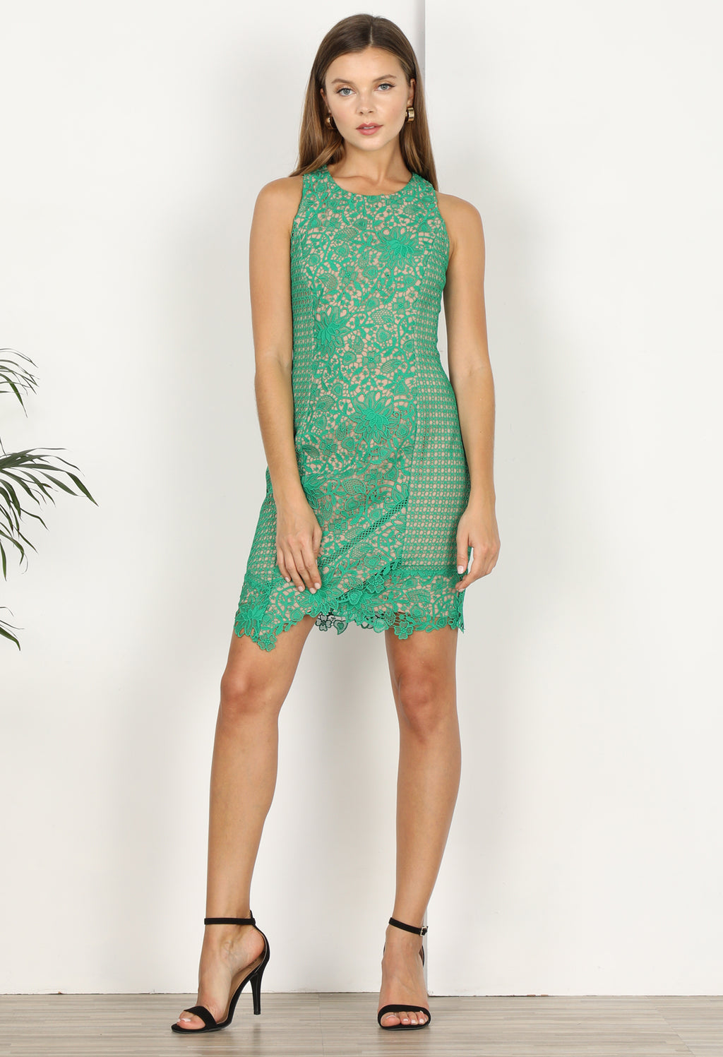 Alessia Lace Sheath Dress