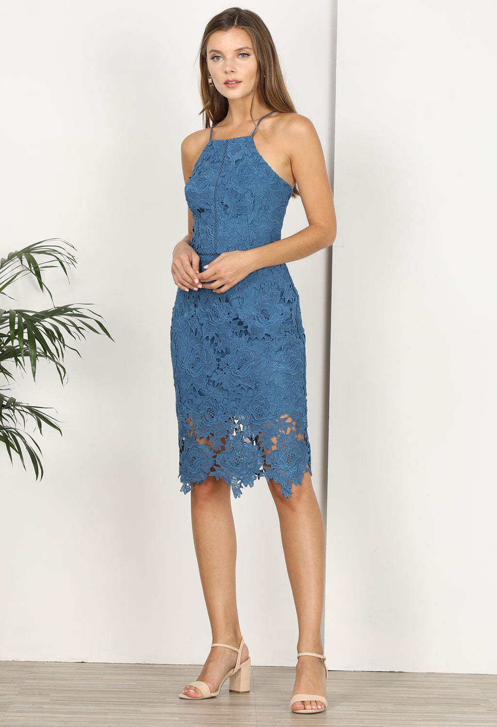 Farrah Lace Sheath Dress