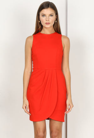 Karlee Knit Ponte Dress