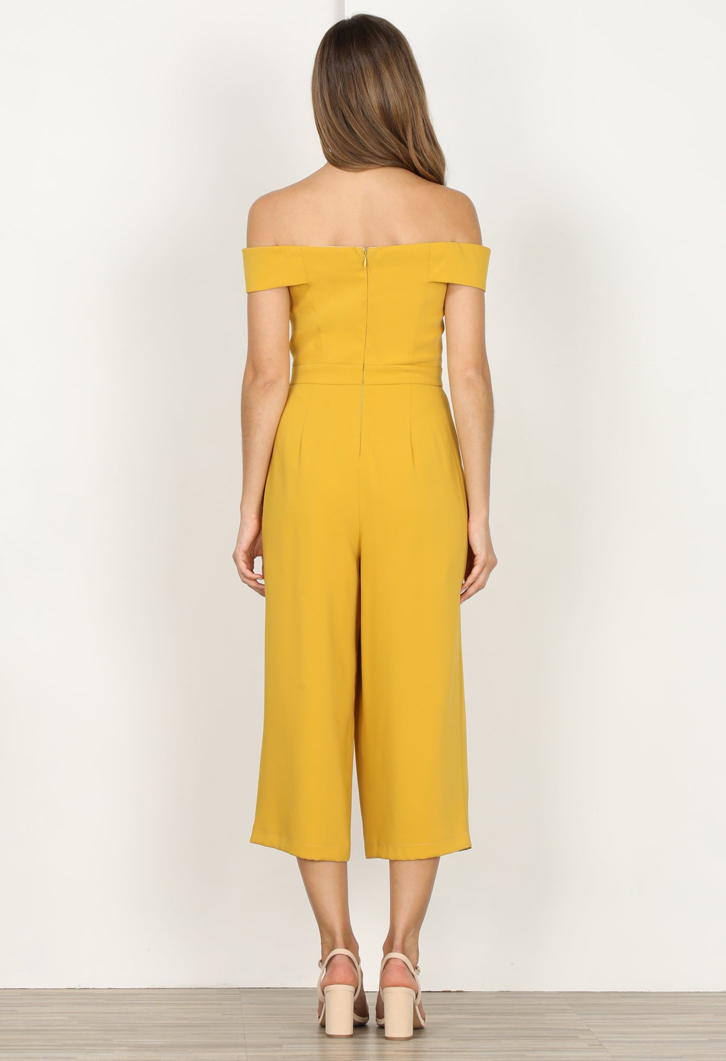 Roxanne Off the Shoulder Culottes