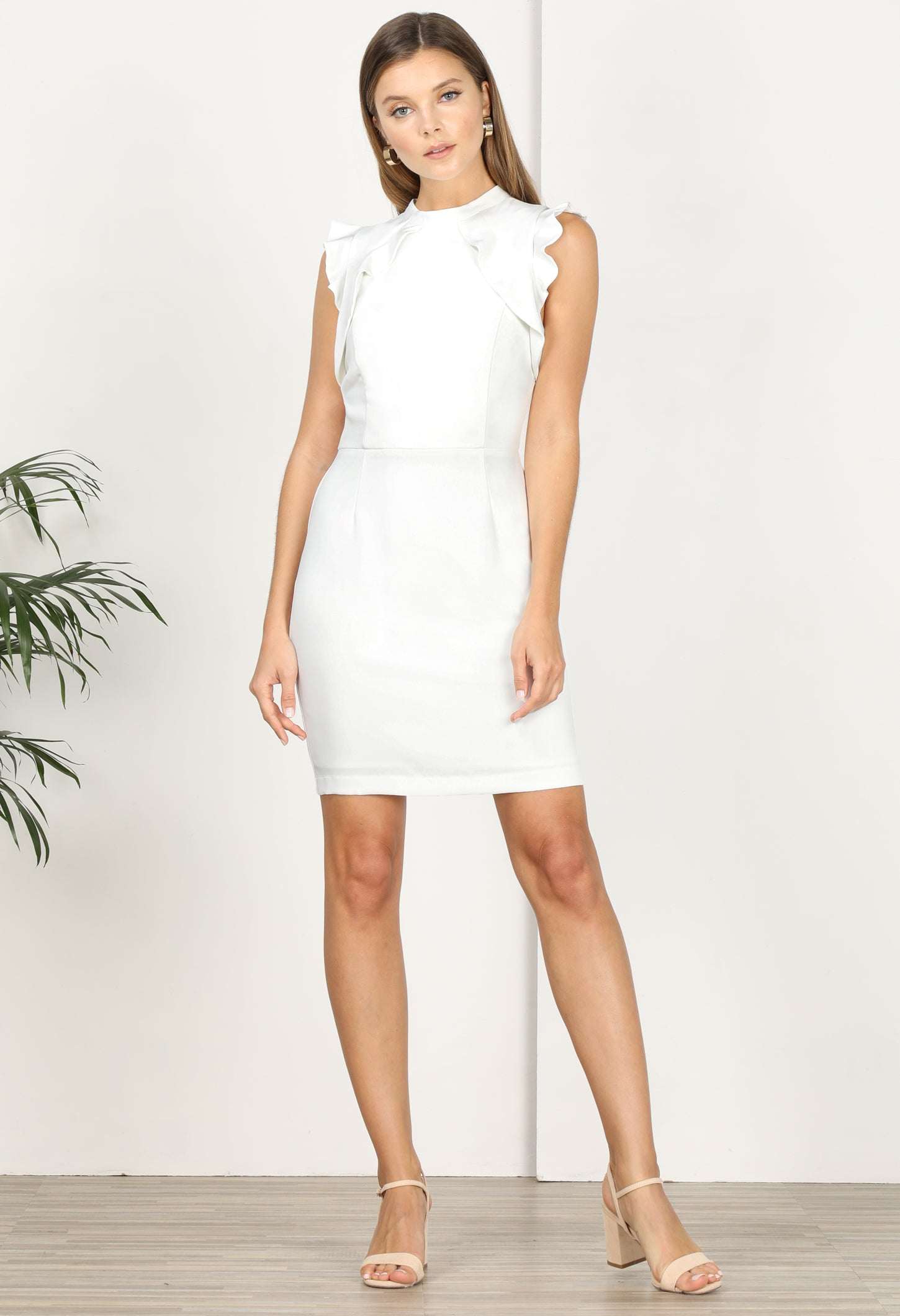 Rosetta Sheath Dress