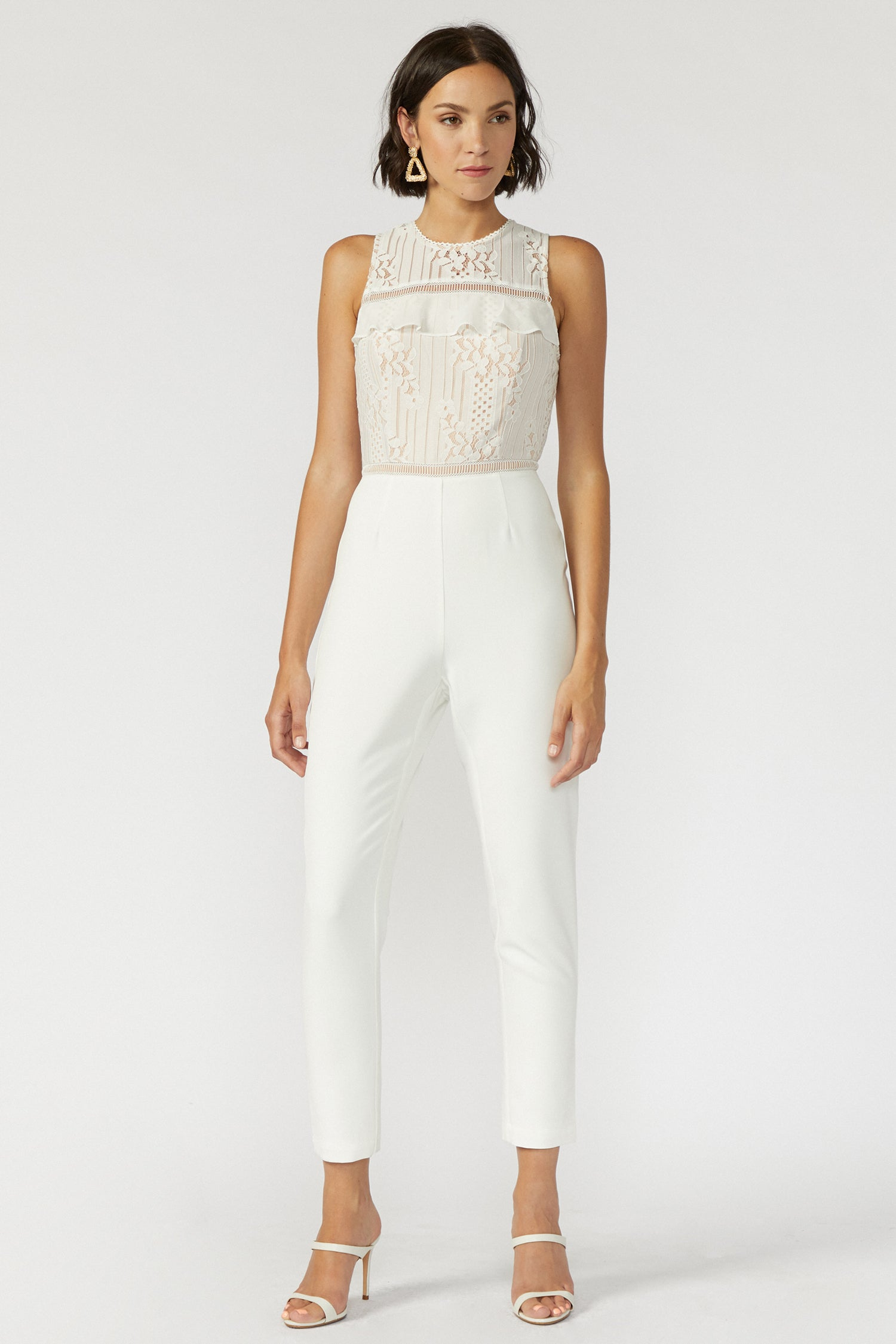 Anna Lace Jumpsuit