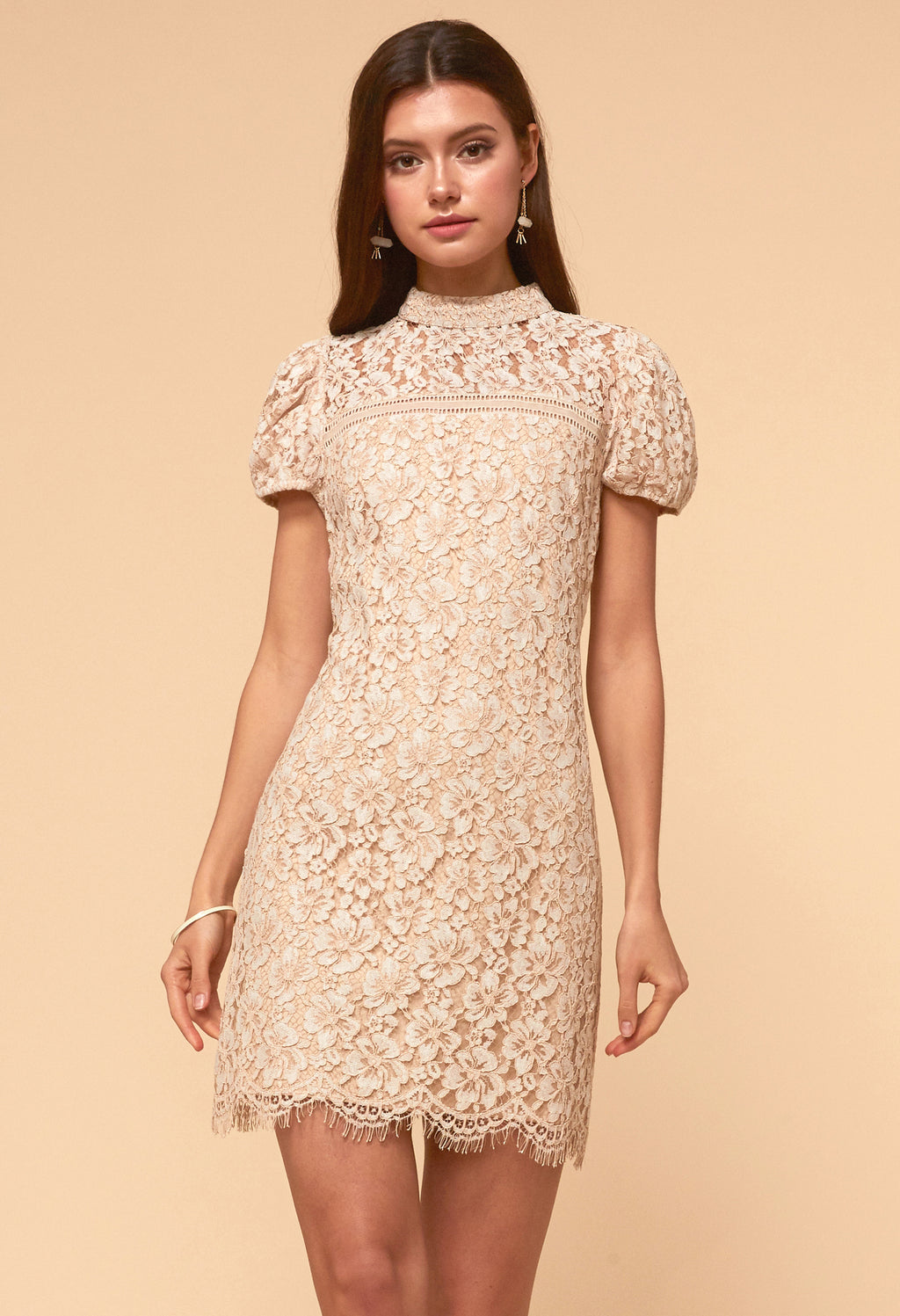 Kaia lace Sheath Dress