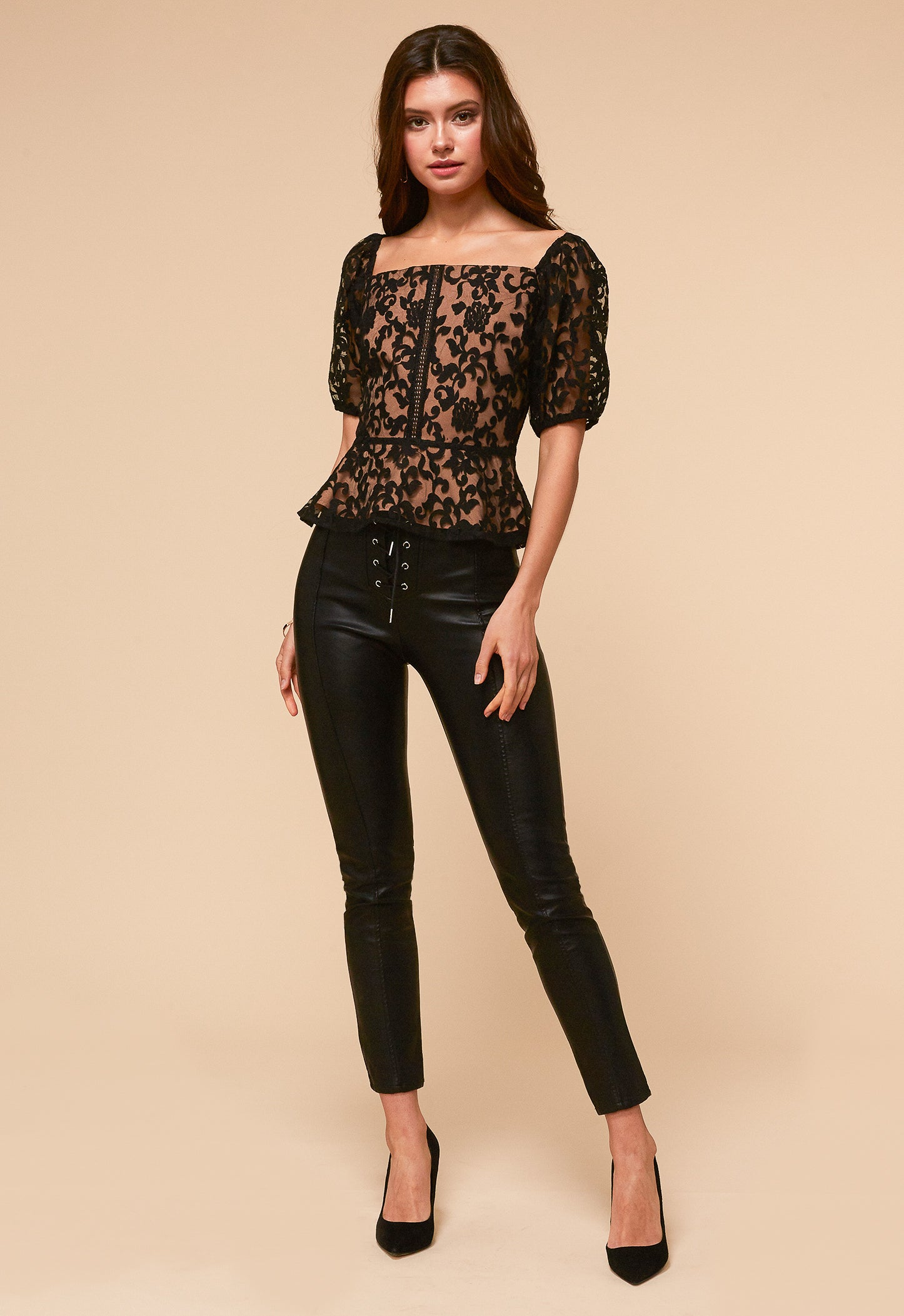 Edith Lace Blouse