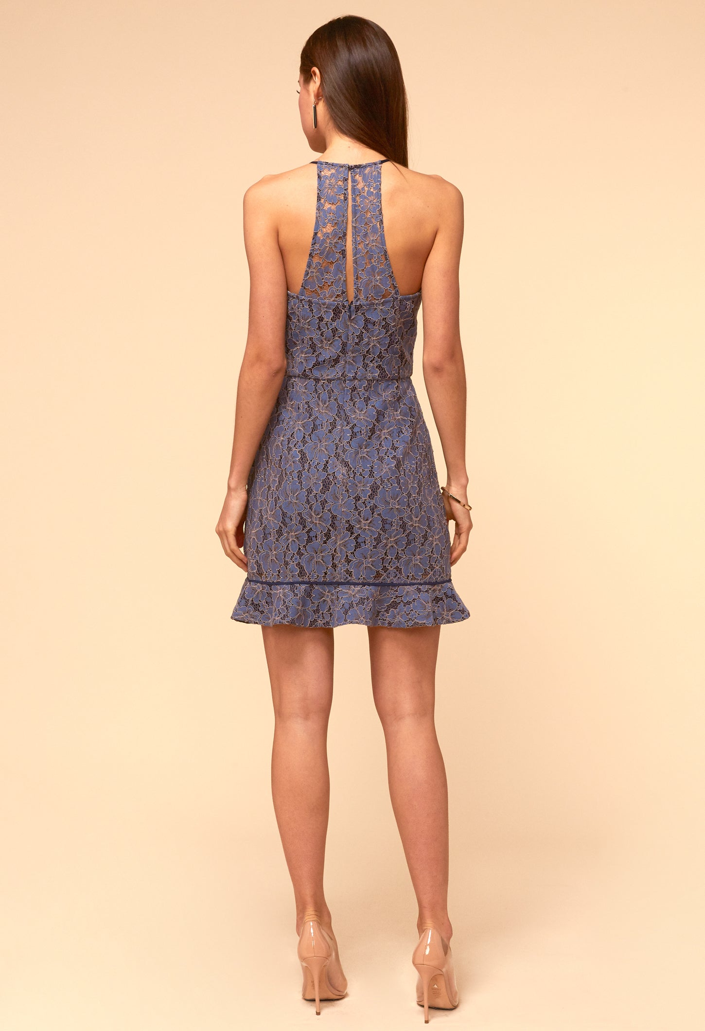 Alicia Halter Dress